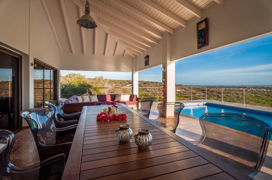 Villa amazing view bonaire oceanfront villas - Buiten villa outs ...