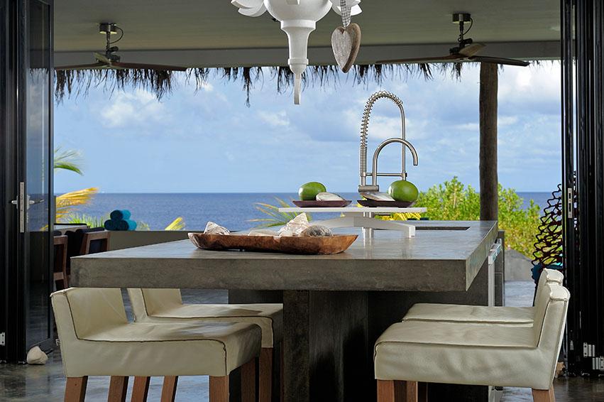 Piet Boon Badkamer : Beach house piet boon bonaire oceanfront villas